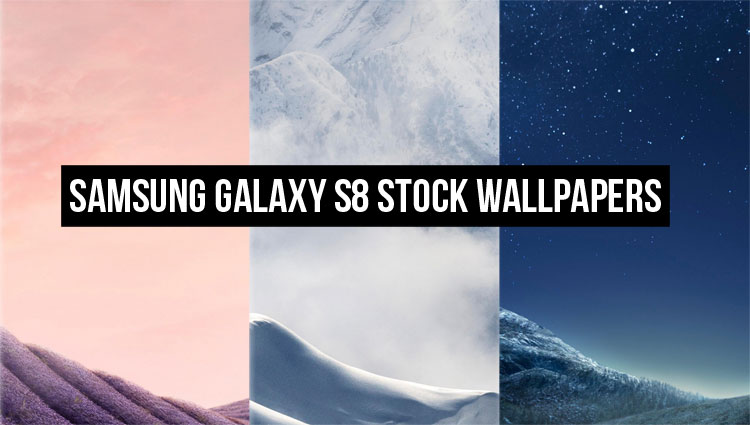 Download the Samsung Galaxy S8's Stock Wallpapers